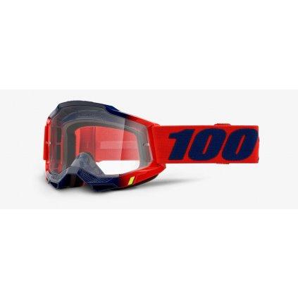ACCURI 2 100% - USA , brýle Kearny - čiré plexi