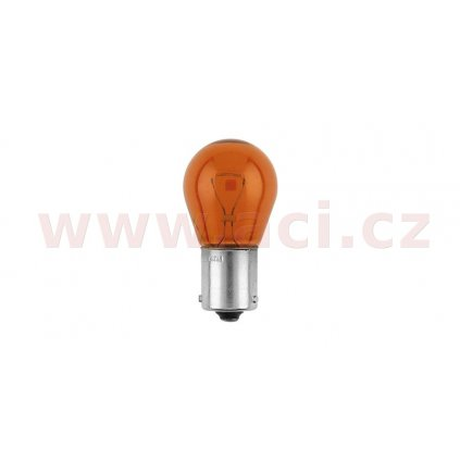žárovka 12V 21W oranžová LongLife EcoVision-3x delší životnost (patice BAU15s) PHILIPS