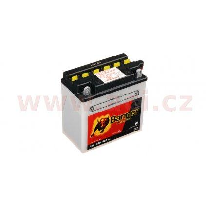 baterie 12V, YB9-B, 9Ah, 90A, BANNER Bike Bull 135x75x139