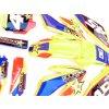 pitbike žluté plasty CRF70 s polepy rockstar/žluté Stomp, DemonX, WPB