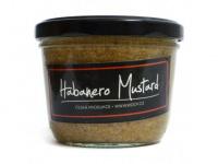 Hořčice habanero mustard. Skvěle pikantní.