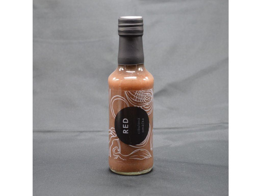 cibulova omacka z cervene cibule