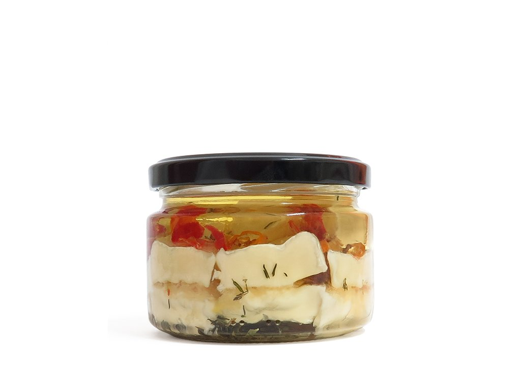 Nakladany hermelín s chilli