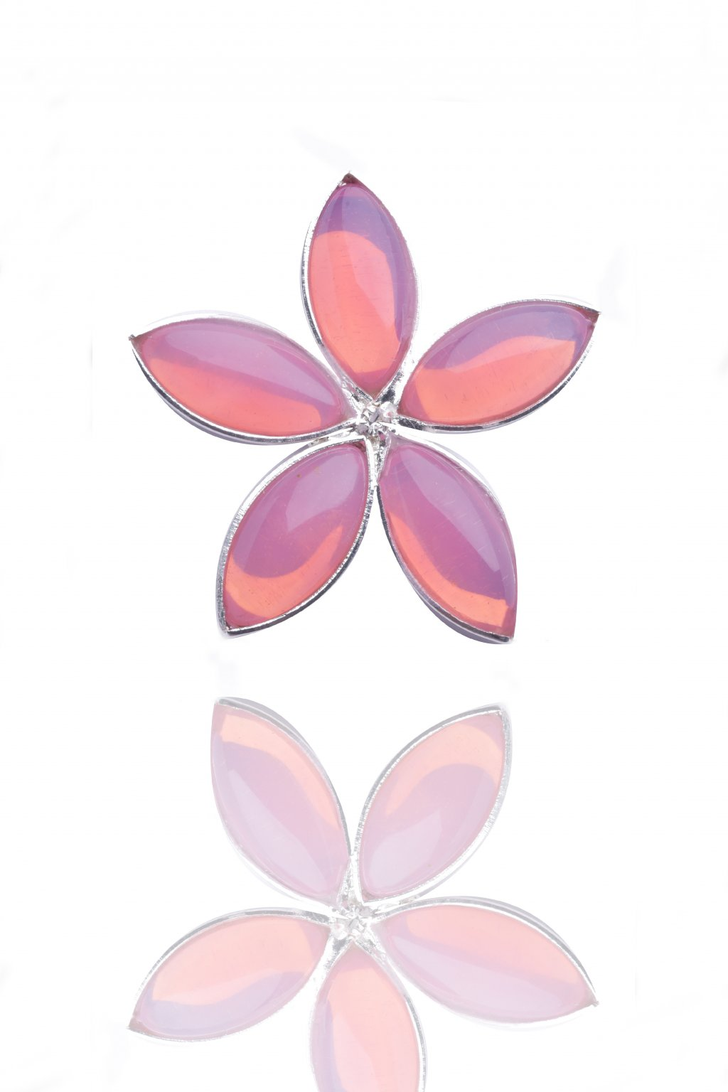 Náušnice Lotus pink flower