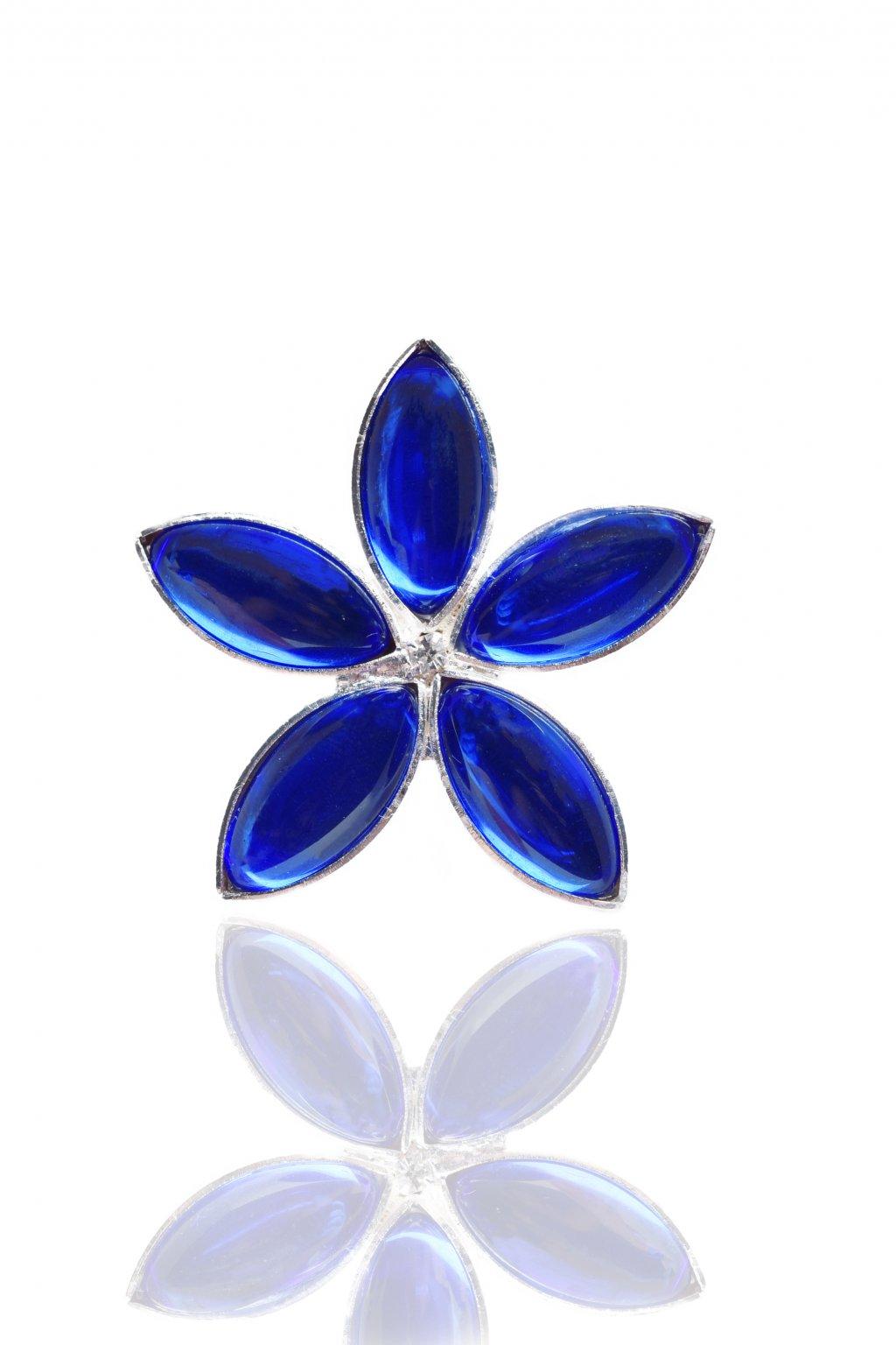 Náušnice Lotus blue flower