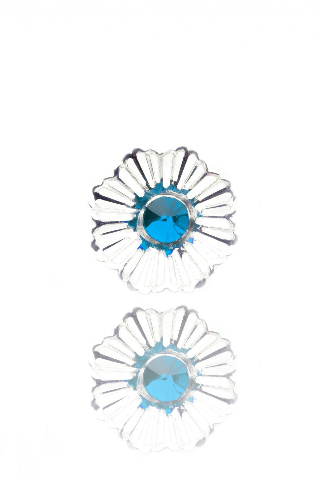 Náušnice Pearl shells blue