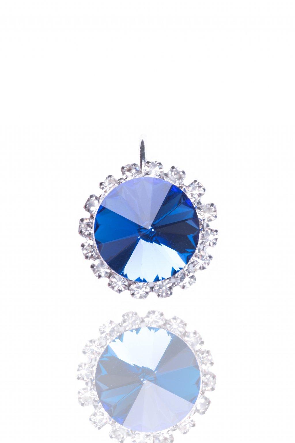 Náušnice Frozen blue mini