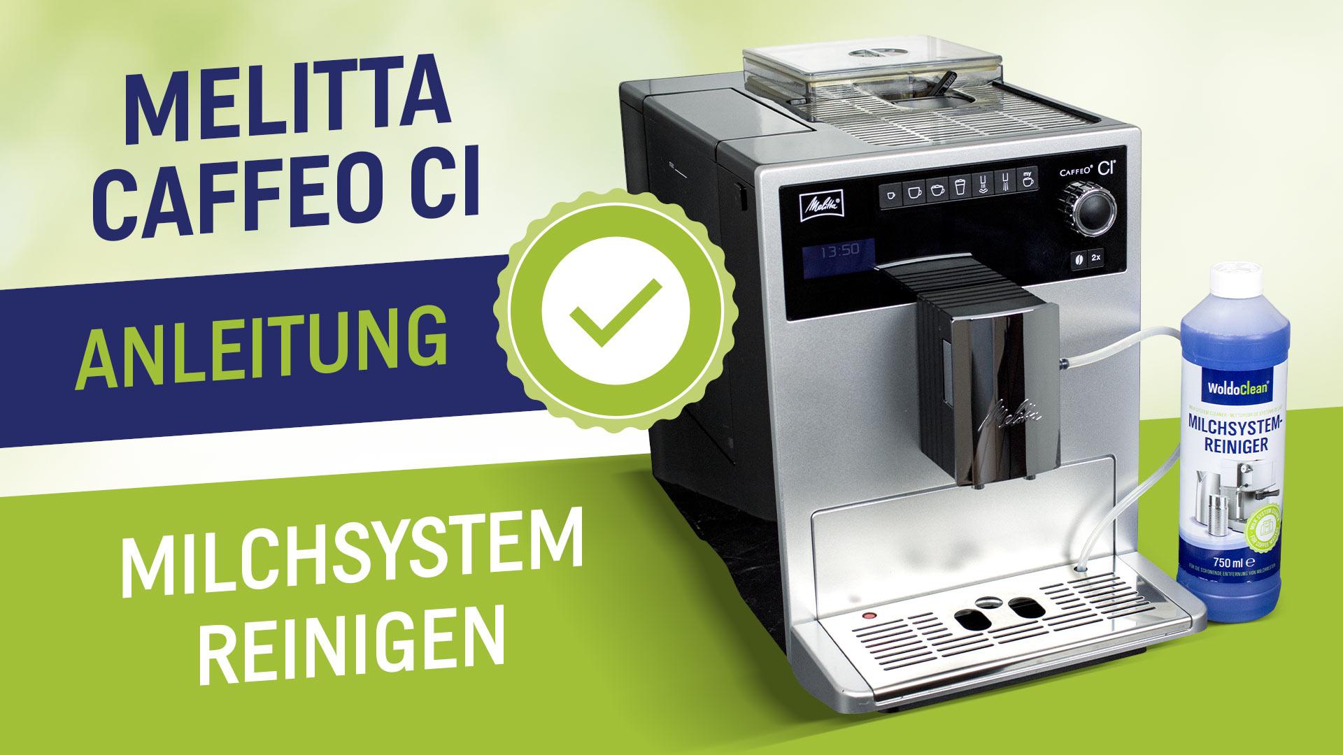 Mléčný systém Melitta čistý Kávovar Caffeo