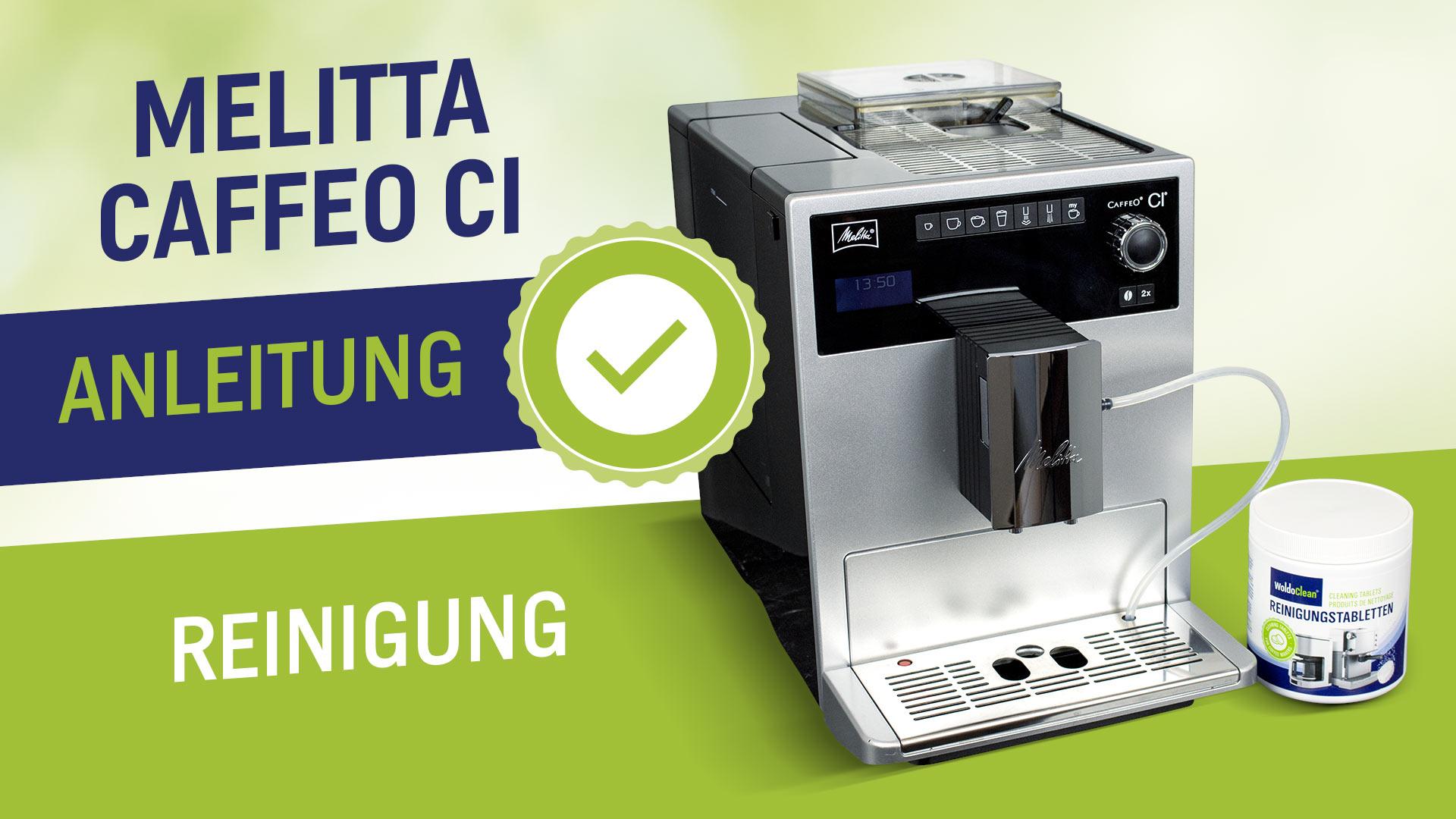 Čištění kávovaru Melitta Caffeo CI