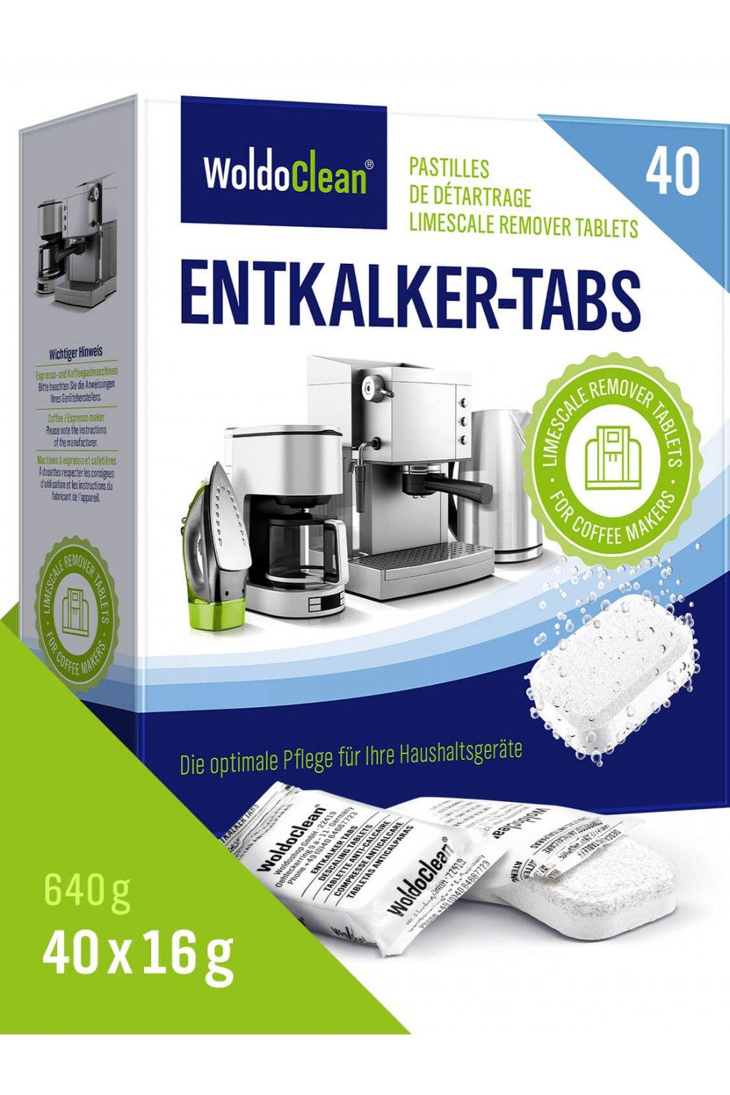 Odvápňovací tablety pro kávovary 40ks