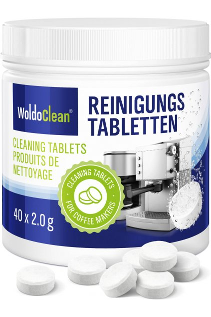 Čistící tablety do kávovaru 40ks