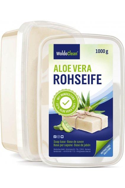 Glycerinové mýdlo s aloe vera 1kg