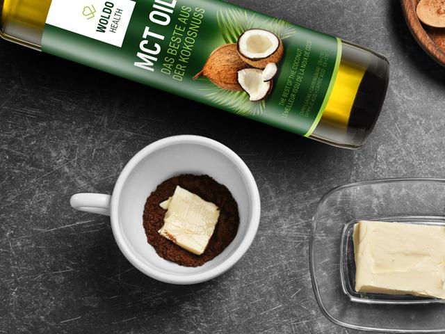 MCT olej z extraktu kokosového oleje