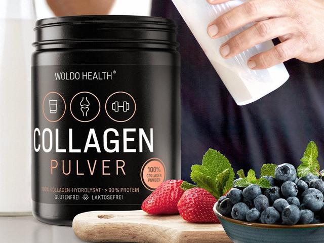 100% hovězí kolagen - z pastvy 500g bílkovinový hydrolyzát bez chuti lehce rozpustný protein Peptidy Lift-Drink