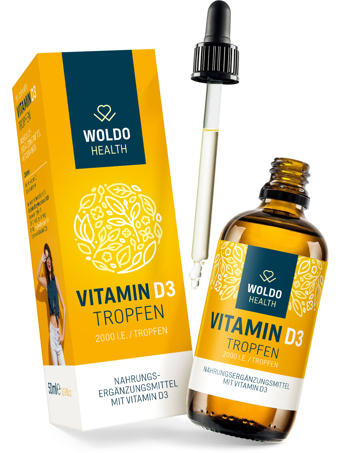WoldoHealth Vitamin D3 4