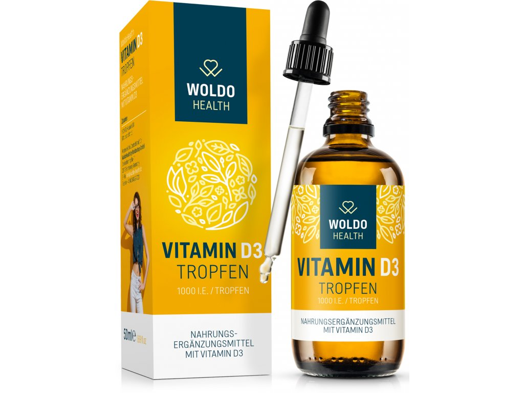 Vitamin D3 1000 kapky