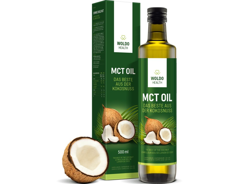 MCT olej kokosovy olej