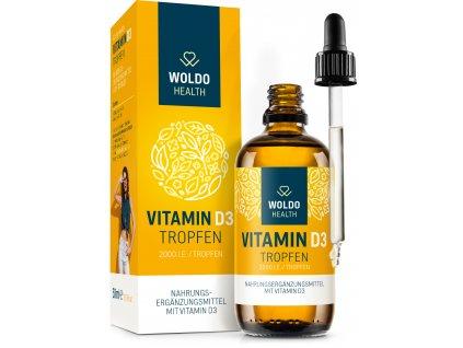 Vitamin D3 2000 kapky
