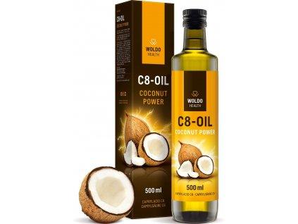 C8 MCT olej kyselina kaprylova