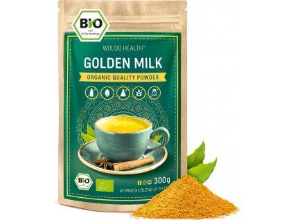 WoldoHealth Goldene Milch 300g 01 1er Pulver