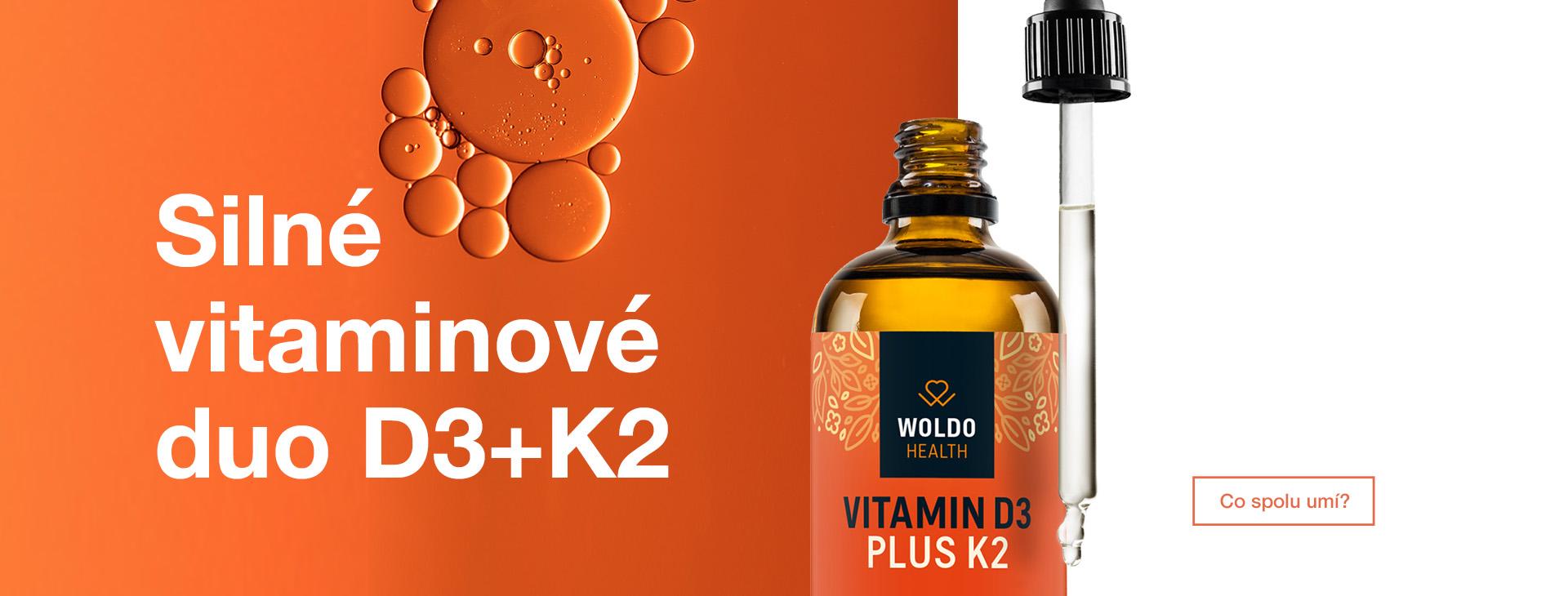 Silné vitaminové duo D3+K2