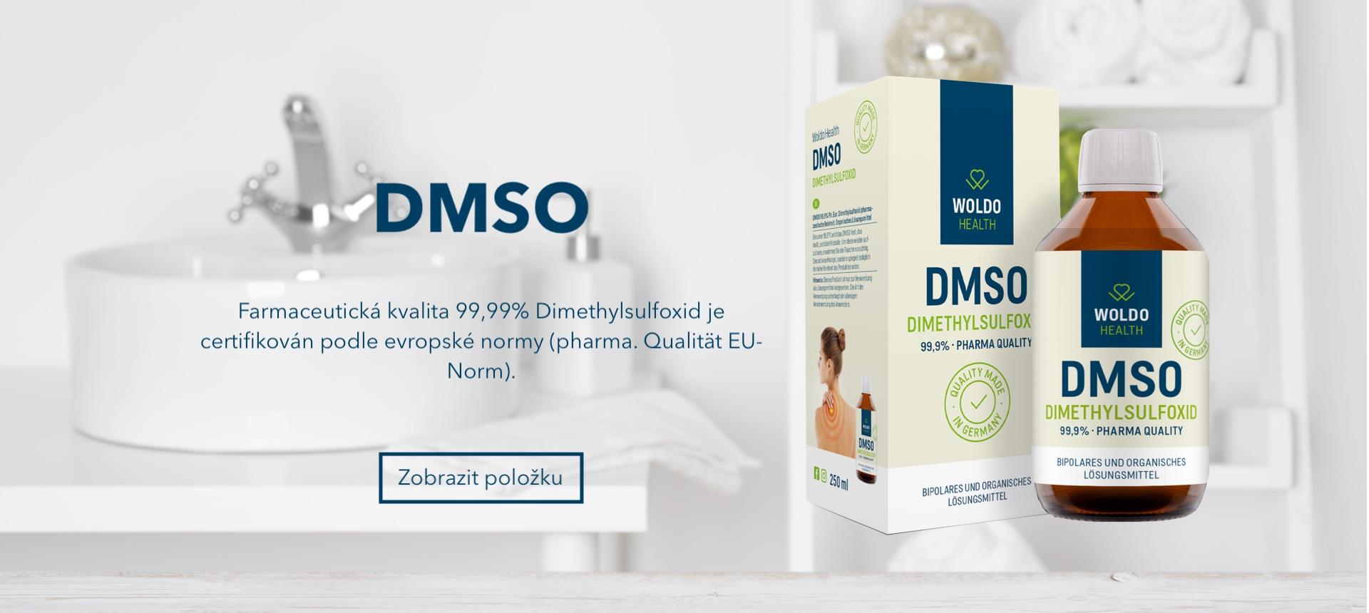 DMSO - Dimethylsulfoxid