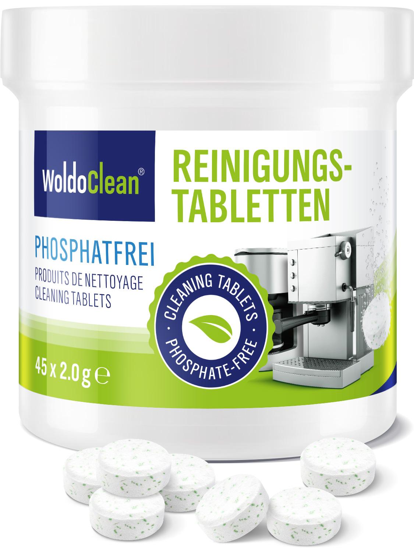 Čistící tablety bez fosfátů
