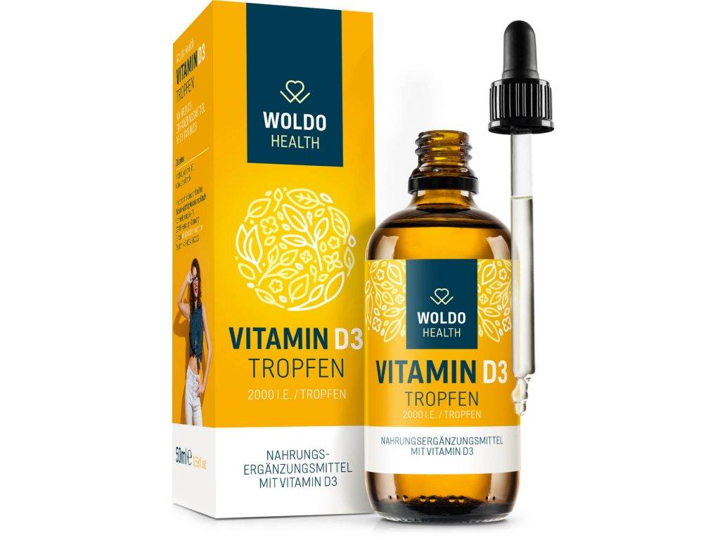 Vitamín D3 2000 IU 50ml