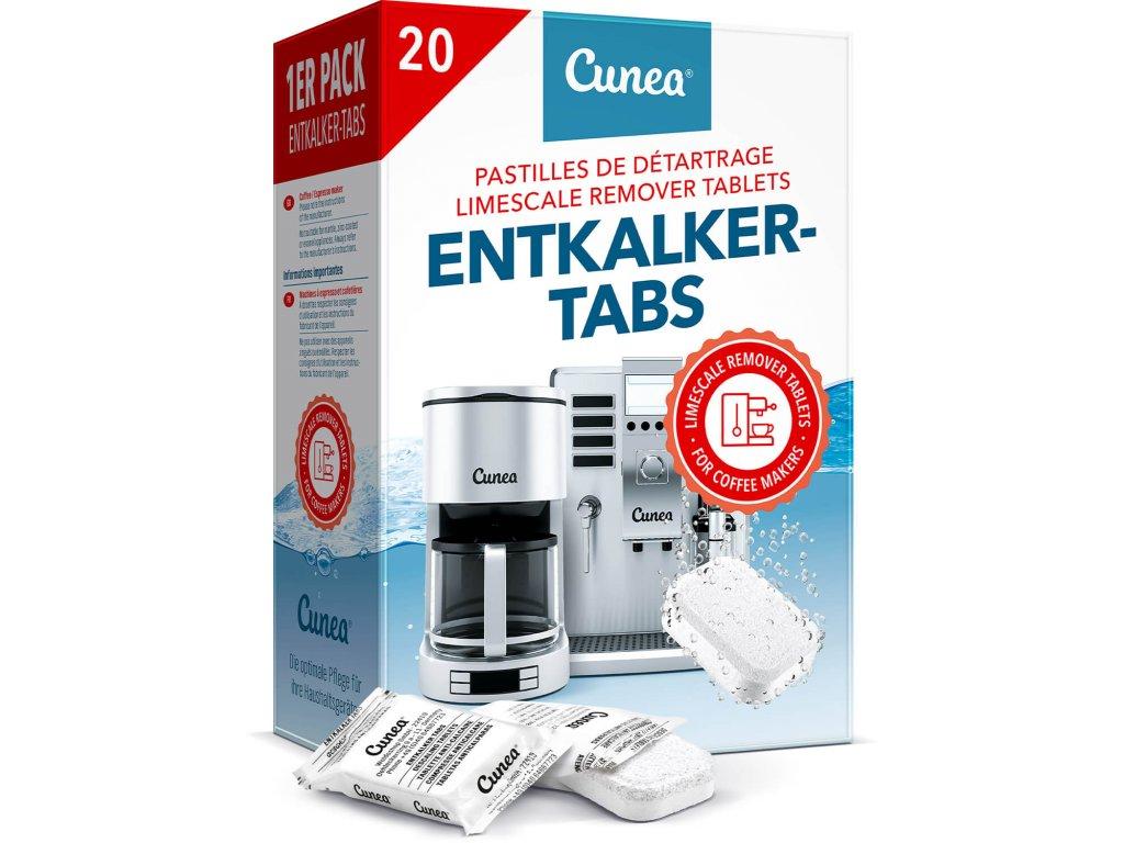 odvápňovací tablety do kávovaru Dolce gusto Delonghi Tassimo Jura Bosch Siemens Saeco 20 ks