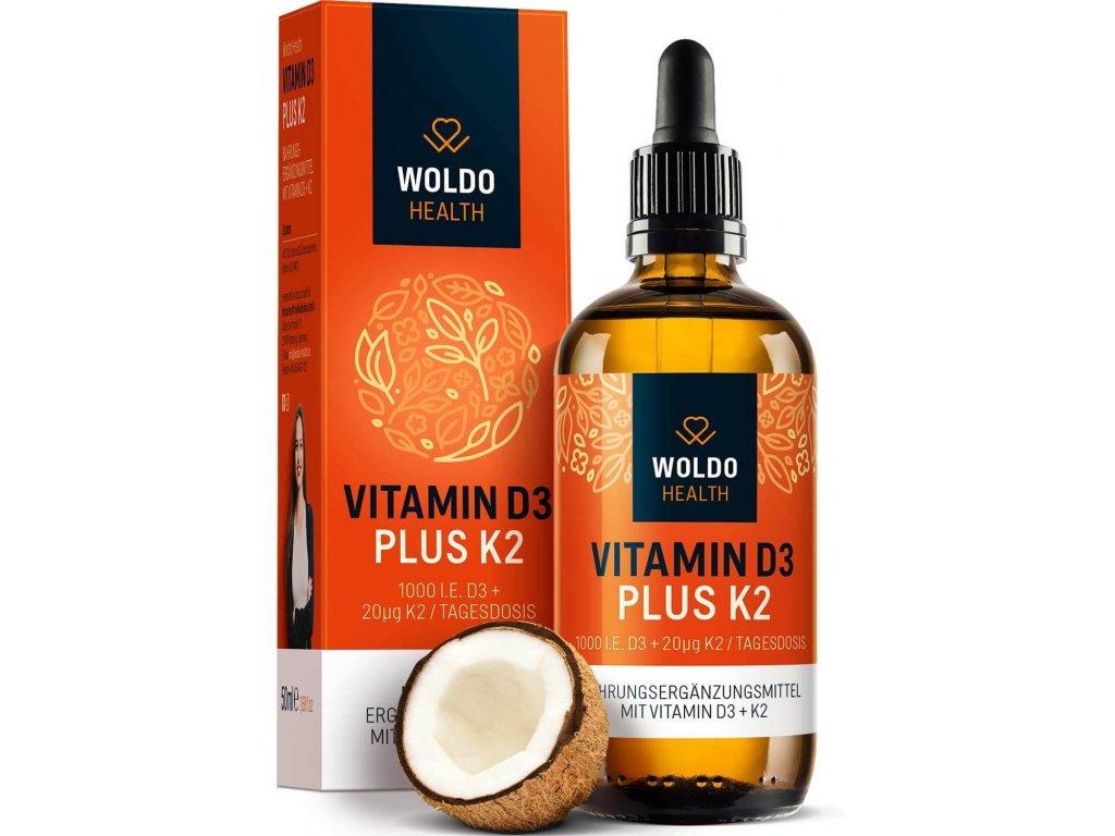 Vitamín D3+K2 50ml