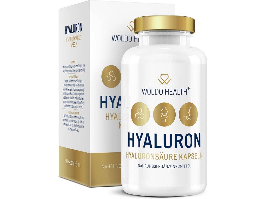 Kyselina hyaluronová 90 kapslí