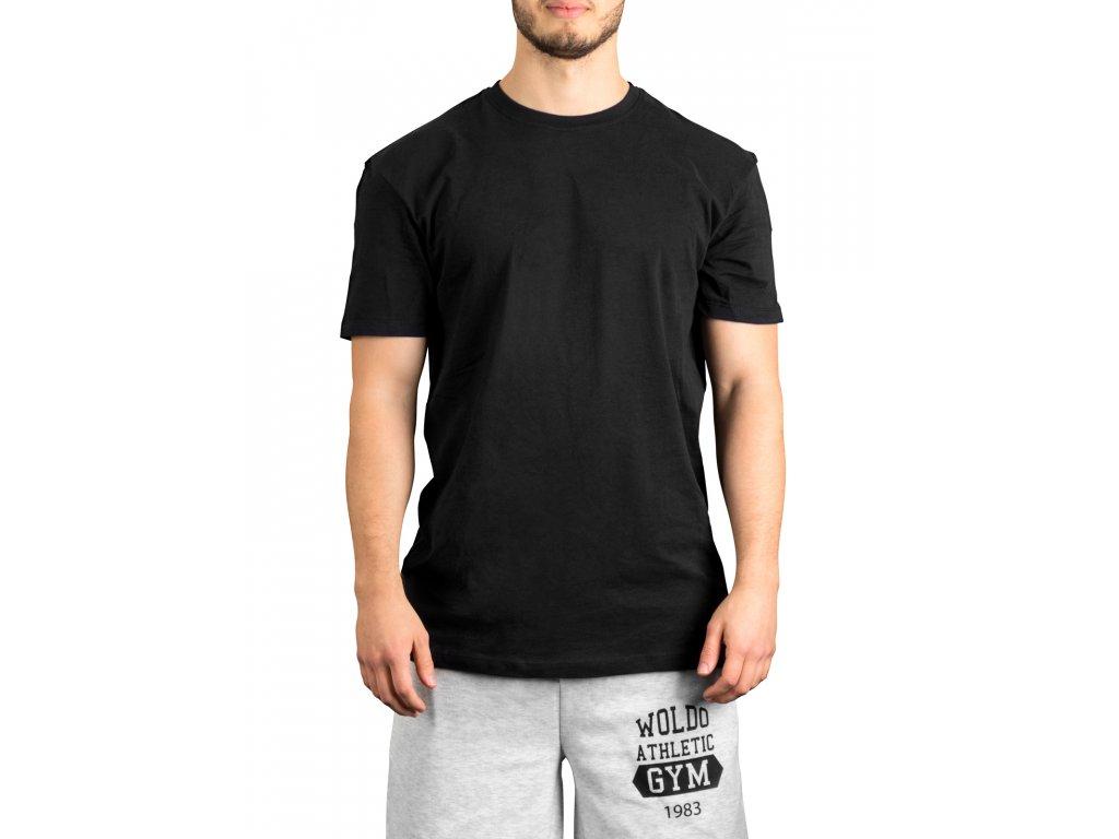 casual standart basic shirt schwarz black 1