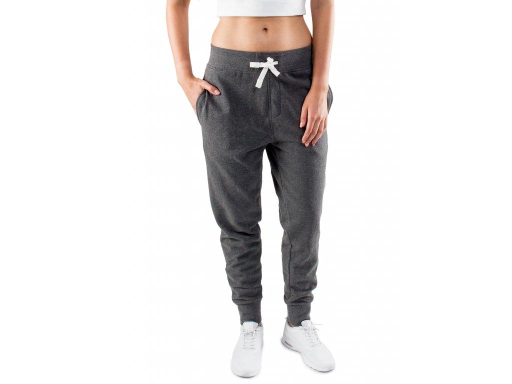 casual standart damen jogger dark grey dunkelgrau 02a