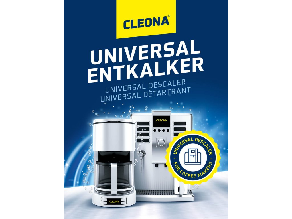 Odvapnovac pro kavovary kompatibilnim s Delonghi Siemens Senseo Nespresso Saeco Miele
