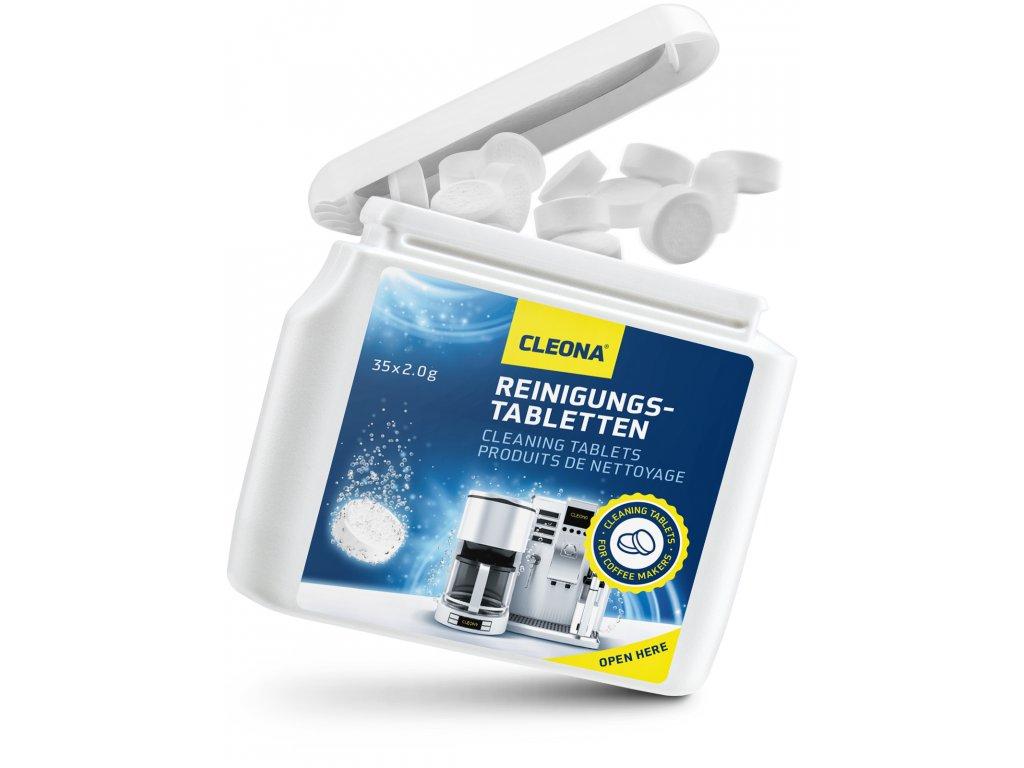 cistici tablety do kavovaru 35 Tablet po 2g Jura Delonghi Bosch Saeco Siemens WMF