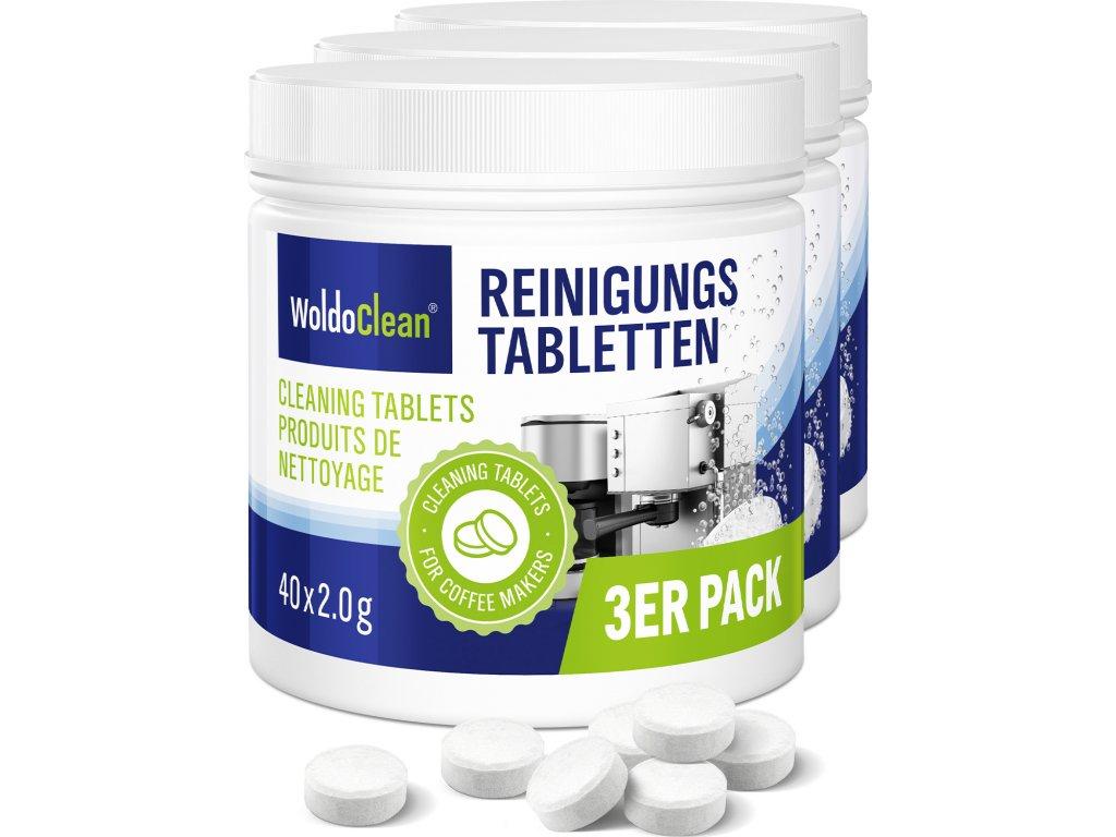 WoldoClean Reinigungstabletten 40er 01 3er Tabletten