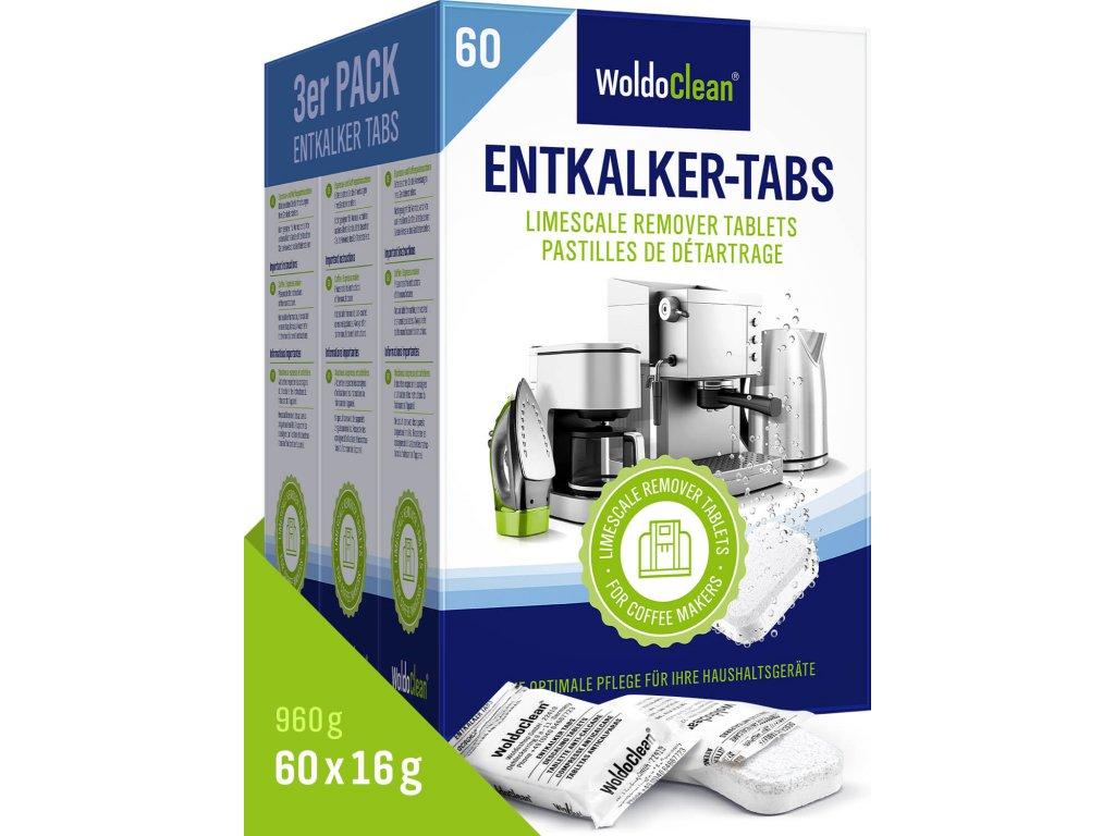 Odvápňovací tablety pro kávovary (3x20ks)