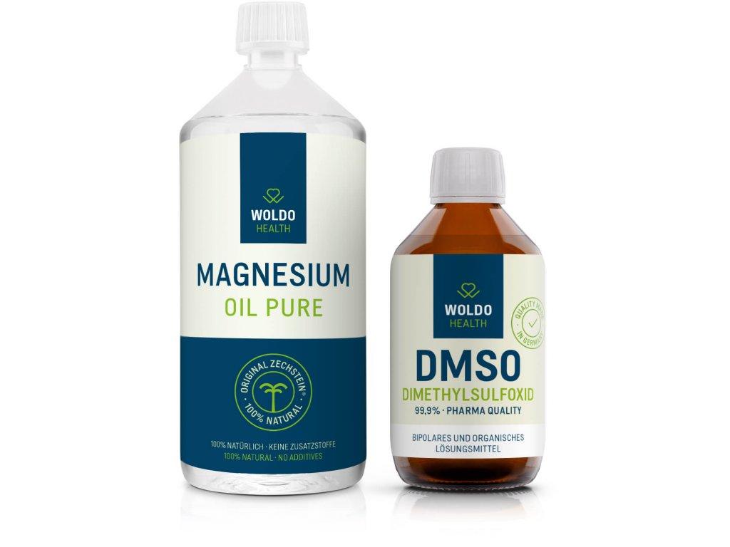 DMSO Hořčíkový olej