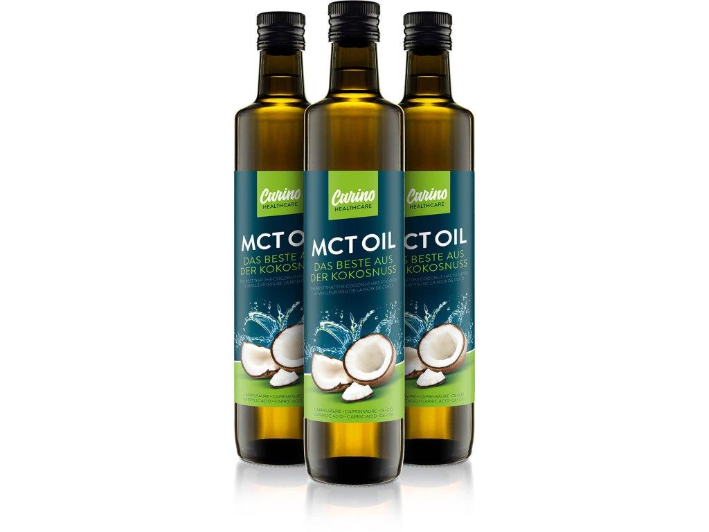 MCT olej dietní tuk