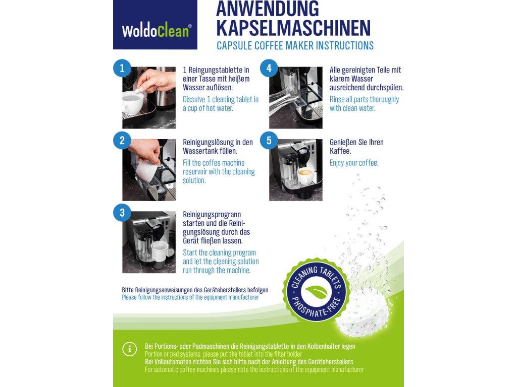 woldoclean reinigungstabletten phosphatfrei 140 1a