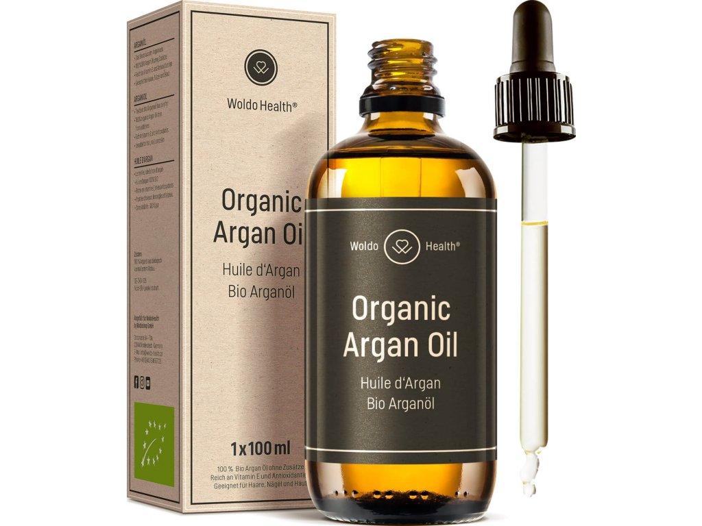 bio arganovy olej na plet