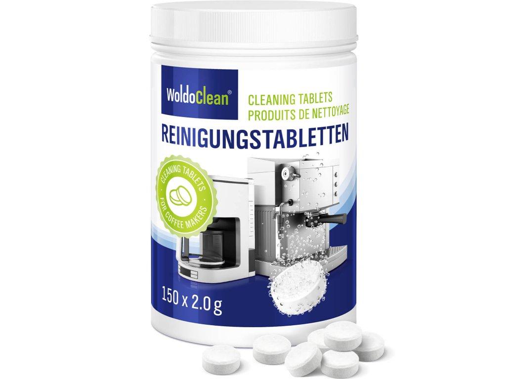 Čistící tablety do kávovaru 150ks
