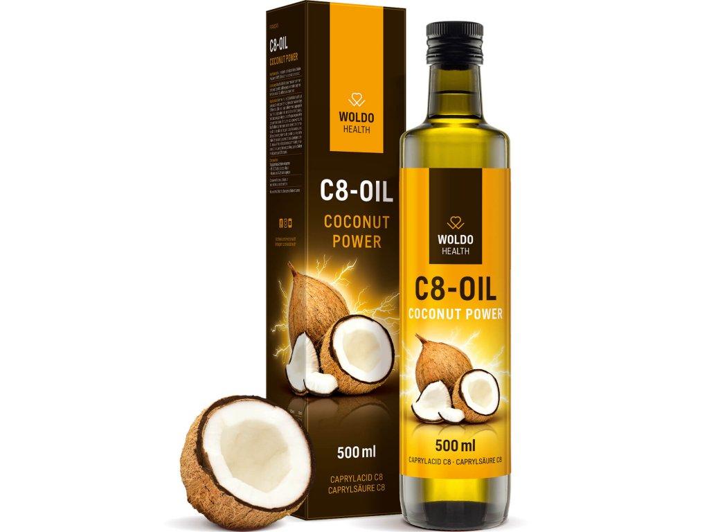 Kokosový olej C8 500ml