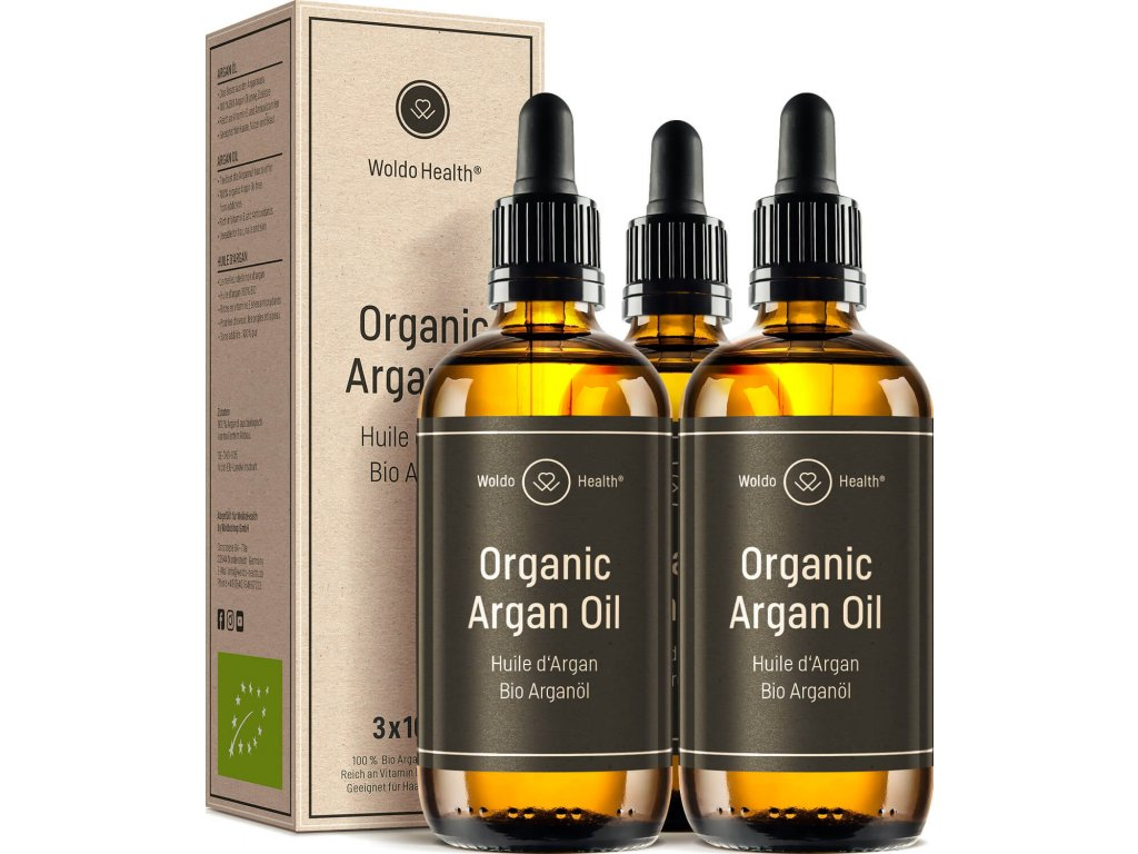 BIO arganový olej (3x100ml)