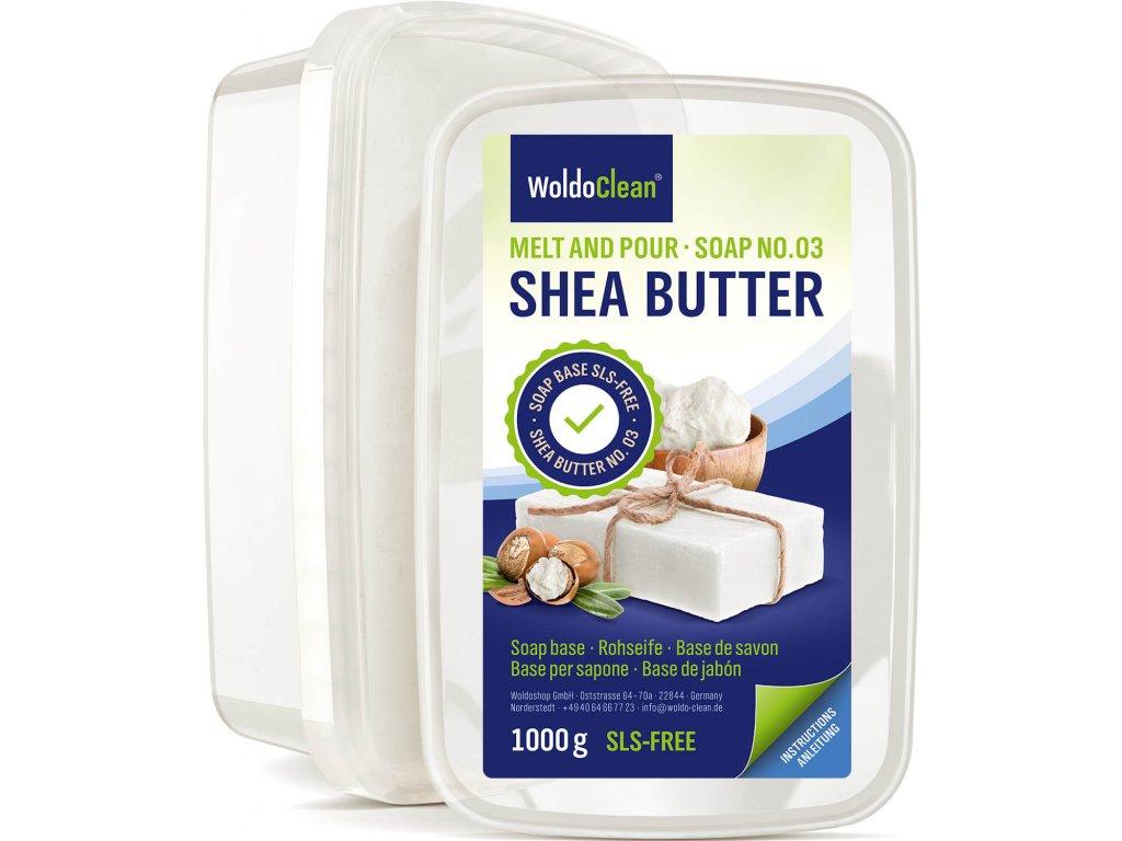 WoldoClean Rohseife Shea Butter 1000g 01 1er