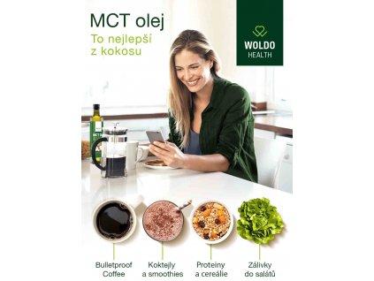MCT olej triglyceridy stredniho retezce
