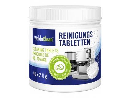 WoldoClean 190506 Reinigungstabletten 40x2g 00 Front Plus Tabletten