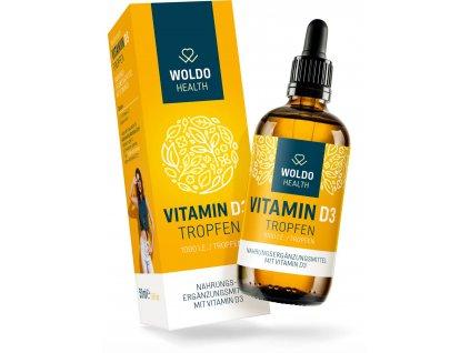 vitamin D3 kapky 1 000 I.E