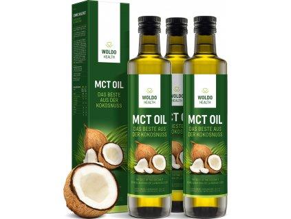 MCT kokosový olej (3x500ml)