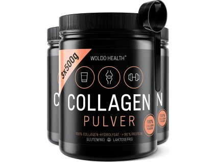 100% Hovězí kolagen (3x500g)